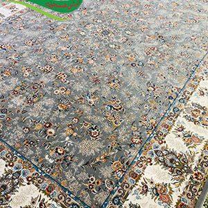 فرش ماشینی طرح افشان رزا طوسی