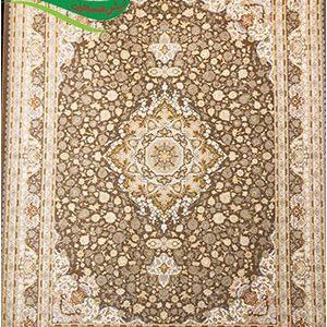 فرش ماشینی طرح درسا نسکافه ای