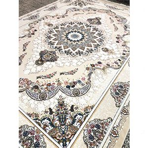 فرش ماشینی طرح صنم صدفی