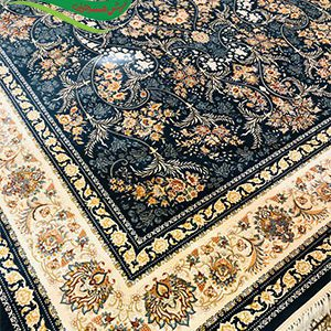 فرش ماشینی طرح هانا کاربنی