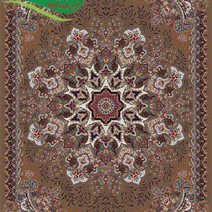 فرش ماشینی 700 شانه آدرینا گردویی