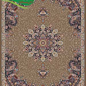 فرش ماشینی 700 شانه آفرین گردویی