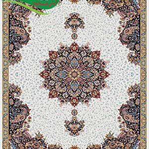 فرش ماشینی 700 شانه آفرین کرم