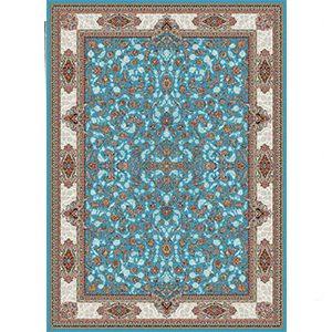 فرش ماشینی 700 شانه افشان اصفهان آبی