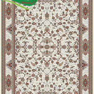 فرش ماشینی 700 شانه افشان اصفهان کرم