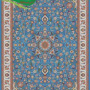 تابلو فرش ماشینی افشان مهرسا آبی