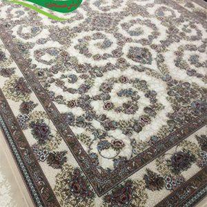 فرش ماشینی طرح افشان شاهان