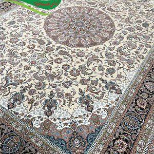 فرش ماشینی 1000 شانه شاه عباسی