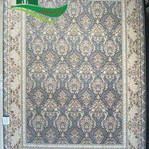 فرش ماشینی طرح بوستان دلفینی