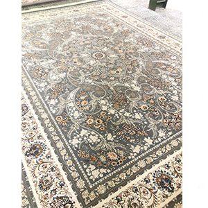 فرش ماشینی 1200 شانه هانا طوسی