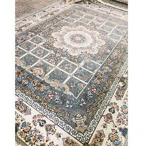 فرش ماشینی خانه رویایی طوسی