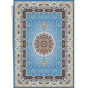 فرش ماشینی هالیدی آبی