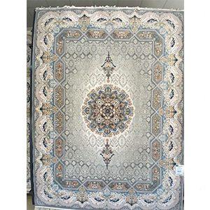 فرش ماشینی هالیدی نقره ای