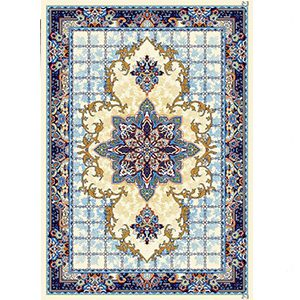 گلیم فرش جدید طرح هیوا آبی