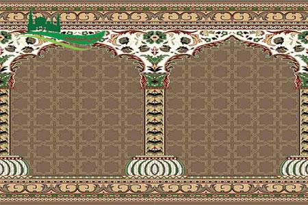 فرش مسجدی طرح آرام
