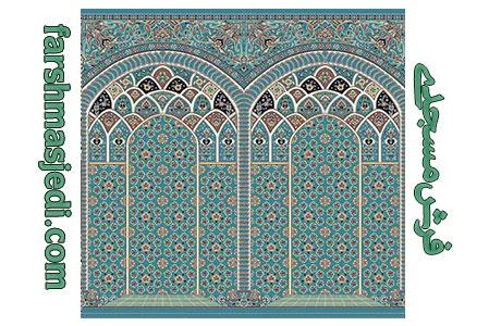 سجاده فرش طرح رمضان