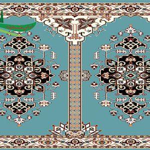سجاده فرش نجم آبی