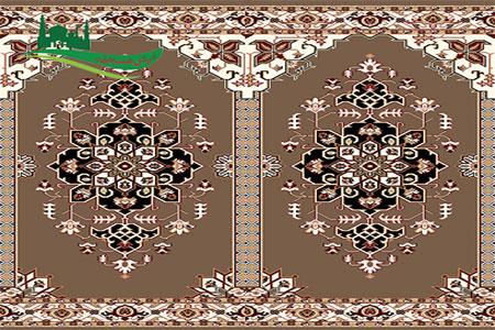 فرش سجاده نجم گردویی