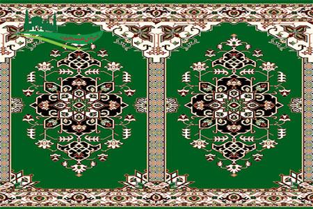 فرش سجاده نجم سبز
